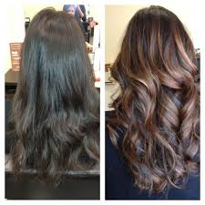 Balayage Painted On Highlights What A