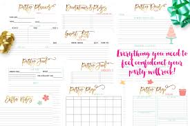 Party Planner Planner Party Under Fontanacountryinn Com