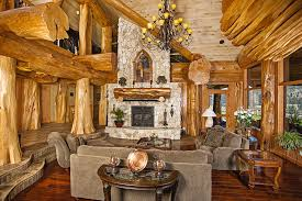 how to design a hearth for your log cabin