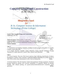 Top Down Design Definition Note For Compiler Design Cd By Rakesh Chaudhary