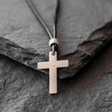 custom cross necklace engraved cross necklace personalize cross necklace mens cross necklace religious necklace necklace