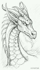 Dragon Pencil Drawing Drawings Nel 2019 Drago Schizzo Disegni