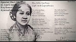 Daftar gambar ibu kita kartini untuk mewarnai via gambarcoloring.website. Spesial Hari Kartini 21 April 2017 Ibu Kita Kartini Keyboard Cover With Yamaha Psr S970 Youtube