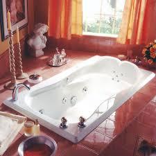 rectangle tub with sculpted back armrests