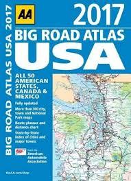 Aa Big Road Atlas Usa 2017 Aa Road Atlas Tourist