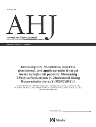 Pdf Achieving Ldl Cholesterol Non Hdl Cholesterol And