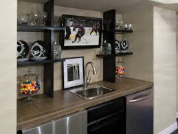 55 Pictures Of Wet Bars In Basements Contemporary Game Room With