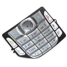 Keypad For Nokia 6670 - Silver - Maxbhi.com