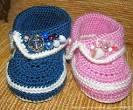 Вязание крючком для детей и пинеток