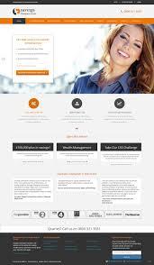Best Financial Services Website Design Modern Colorful Financial Service Web Design For Peat Fire