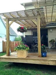 diy deck canopy awning home depot ideas with plans 12