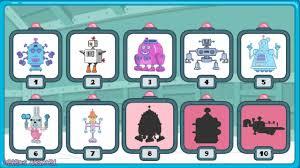 wubbzy widgets build a robot game