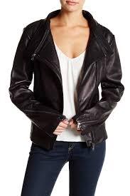 image of sam edelman genuine leather jacket