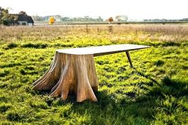 tree root table tree root table base tree stump furniture tree stump table base for