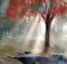 los angeles contemporary art titled red tree 1 by artist todd krasovetz los angeles contemporary art gallery contemporary artist in los angeles ca