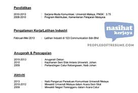 Download Contoh Resume