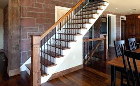 wood and wrought iron stair railing stairs astounding cast fascinating railings  interior with black replacing w