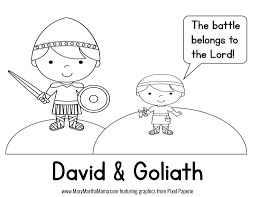 David And Goliath Coloring Pages 19 S David And Goliath Coloring