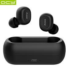 <b>QCY T1C</b>/T2C <b>Mini</b> Dual V5.0 Wireless Headphones <b>Bluetooth</b> ...
