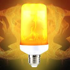 Fimitech Flame Light Bulbs Popular Fire Light Bulb E27 4 Modes Smd2835 Led Flame Effect
