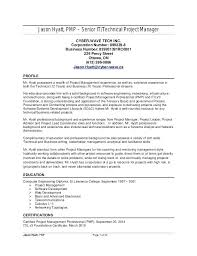 Sample Resume Project Manager Construction Project Manager Resume ...