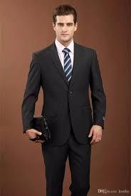 Suit Coat Pant Design Men Suit 2018 Latest Coat Pant Designs Brand Clothing Luxury Mens Suits Wedding Suits Groom Black Mens Formal Wear Business Jacket Pants Prom Tuxedos
