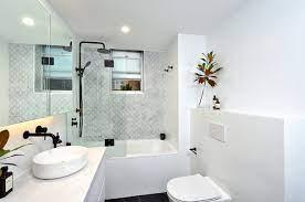 12 ways to make any bathroom look bigger
