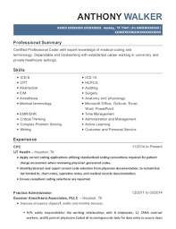Crna Resume Unique Ut Health Cpc Resume Sample Hockley Texas ResumeHelp