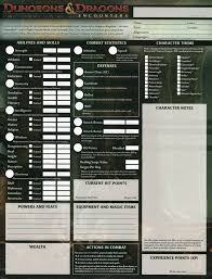 dungeons and dragons character sheet online 18 best character sheet images on pinterest dnd character sheet