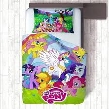 my little pony duplex printing kids duvet cover pillow case quilt covers bedding set bedroom comforter queen size minions