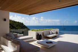Superb Villa With Outdoor Pool And Bedrooms Overlooking The Ocean In St.  Barts