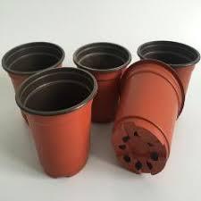 garden pots cheap. D10Xh9Cm 100Pcs/lot Cheap Plastic Pots Caliber Corrosion Resistance Postoral Flower Garden O