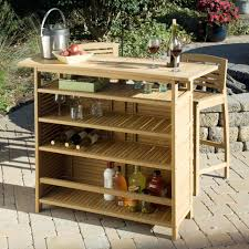 wood patio bar set. Image Of: Teak Outdoor Bar Cart Wood Patio Set A