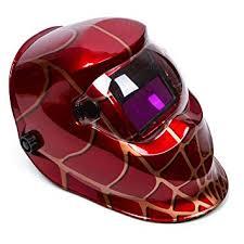 OHMOTOR <b>Auto Darkening Solar</b> Powered <b>Welding Helmet</b> ...