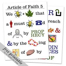 Articles Of Faith The Idea Door