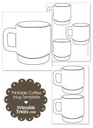 hot chocolate mug writing template. Delighful Mug Printable Coffee Mug Template From PrintableTreatscom In Hot Chocolate Writing H