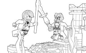 Small Picture Lego Ninjago Color Pages Es Coloring Pages