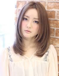 小顔髪型ミディアムwa 178 ヘアカタログ髪型ヘアスタイル