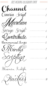 free wedding fonts calligraphy from dafont