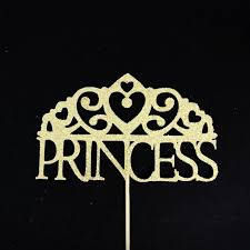 Tiara Cake Topper Princess Birthday Cake Topper Princess Baby