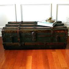 storage trunk coffee table vintage chest coffee table storage trunk coffee table rustic trunk coffee table