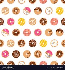 Donut Pattern New Decoration
