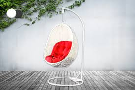 139 instead of 349 99 from real home furniture for a rattan co hanging garden egg chair save 60 rattan egg hanging pod chair2