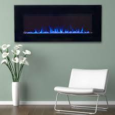 42 in led fire and ice electric fireplace