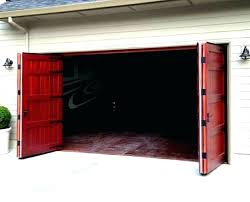 tri fold windows folding garage doors bi fold garage doors nz folding garage