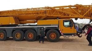Purchase Of Brand New Liebherr Crane With Maximum Lifting