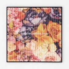 Small Picture Flower Designs Fabric Wall Hanging Painting Flower Designs Fabric