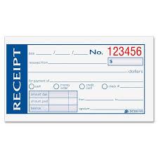 hand written receipt template hand written or computer generated receipts childcare pinterest