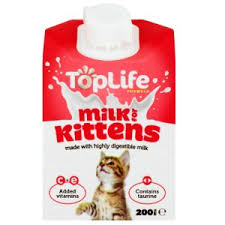 image for toplife kitten milk 200ml from pets at home