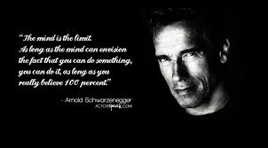 Belief Quotes Awesome QUOTE Arnold Schwarzenegger On Belief Quote Actor